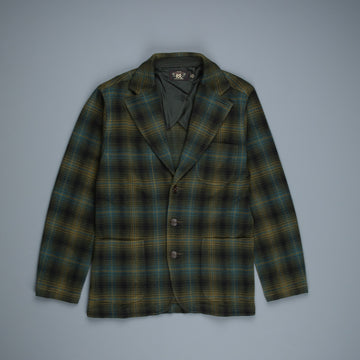 RRL Double Knit Jacquard Blazer Irish Country Plaid