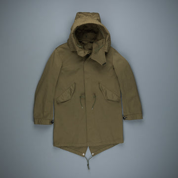 Ten C Parka Oliva Scuro