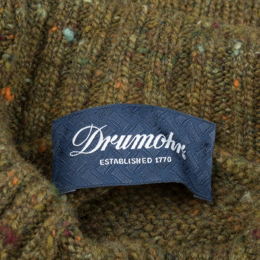 Drumohr Sherwood Turtle Neck Donegal Oliva
