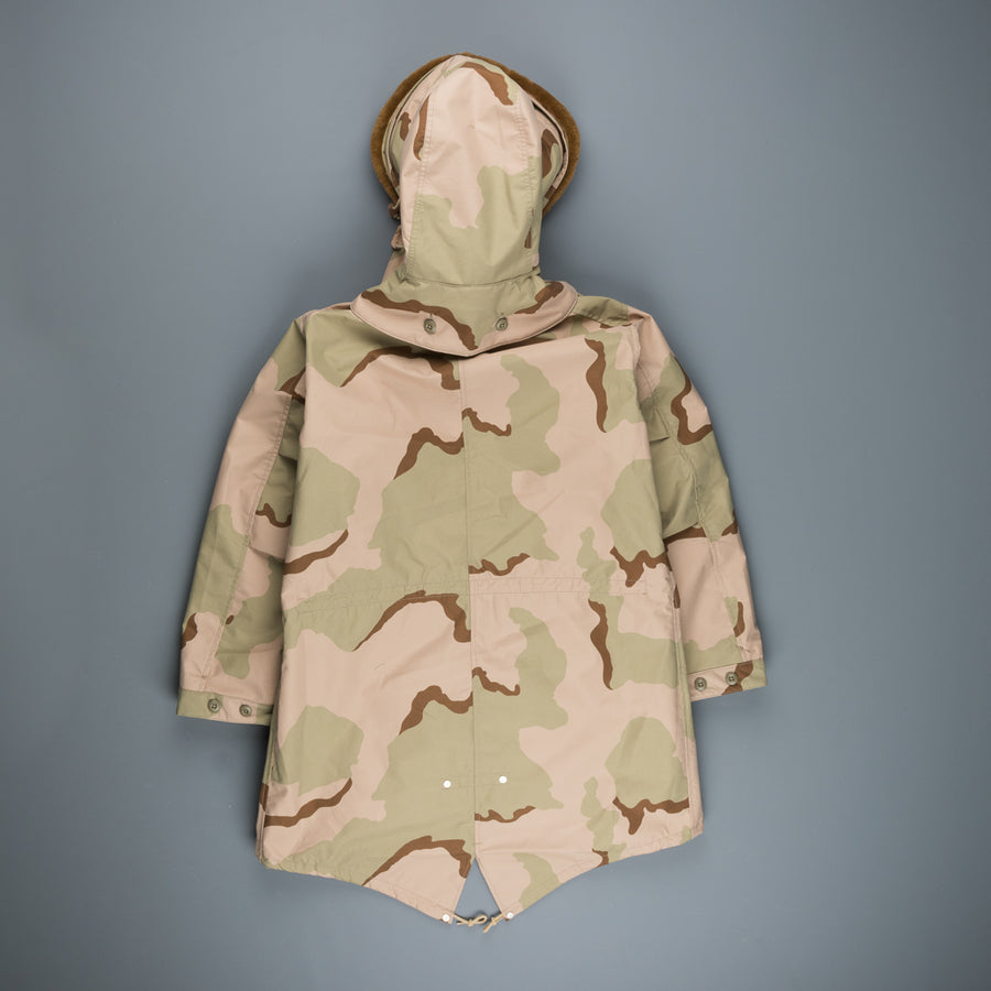 Rocky Mountain Featherbed Desert Camo parka