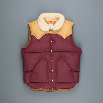 Rocky Mountain Featherbed x Frans Boone exclusive Christy vest Burgundy