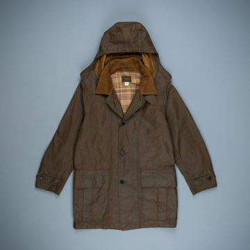 RRL Longbridge Waxed Cloth Coat