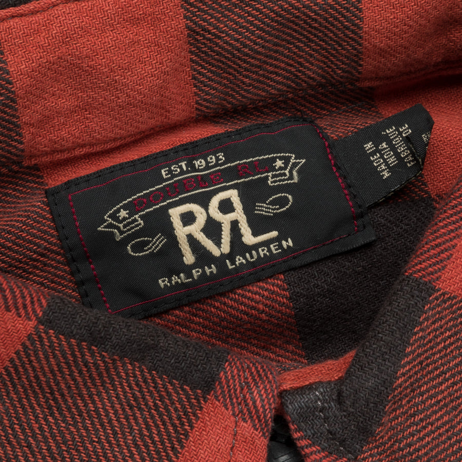 RRL Farrell Shirt Red Black Plaid