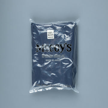 The Real McCoy's 2 Pack Crew Neck Tee Navy