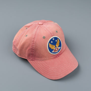 RRL Ball Cap Hat Faded Red