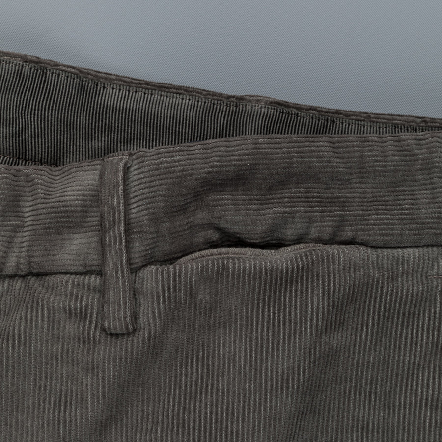 Incotex Venezia Model 30 High Comfort Corduroy Grigio Medio