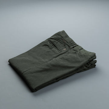 Incotex Slacks Model 100 Tricochino Verde Scuro