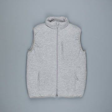 Aspesi Wool Traveller Vest Light Grey