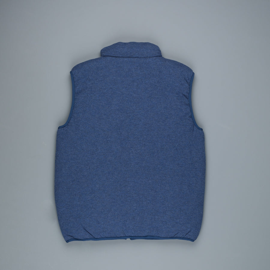 Aspesi Wool Traveller Vest Blue
