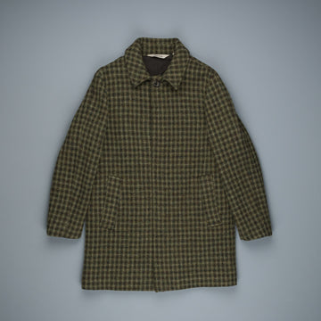 Aspesi Virtus Coat Washed Harris Tweed