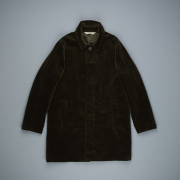 Aspesi Virtus Cord Coat dark green