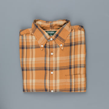 Gitman Vintage x Frans Boone Japanese woven Flannel check - William