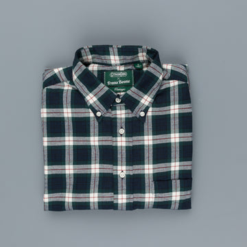 Gitman Vintage x Frans Boone Japanese woven Flannel check - James