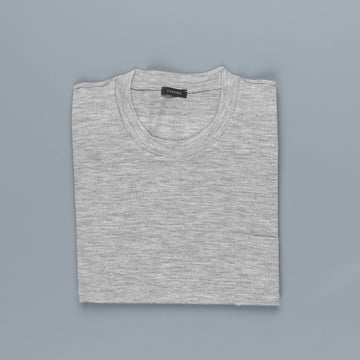 Zanone Urban Traveller ML Merino T-Shirt Grigio Medio