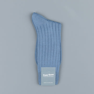 Frans Boone x Pantherella Packington Merino Wool Socks Smoke