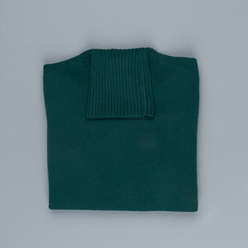 Drumohr Cashmere Dolcevita Turtleneck Racing Green