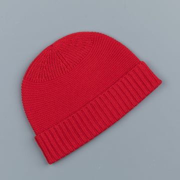 RRL Cashmere Watch Cap Red