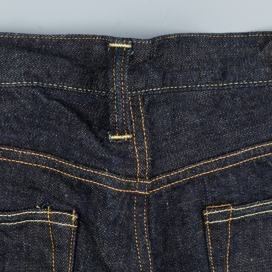 Studio D'Artisan SD 909-G3 High Rise Tapered Fit jeans one wash