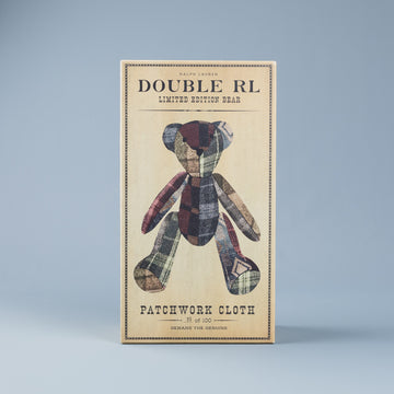 RRL Limited Edition Fleming Patchwork Bear