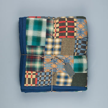 RRL Limited Edition Quilted Patchwork Plaid