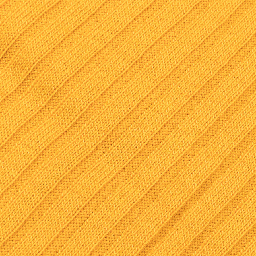 Pantherella Laburnum merino wool knee high socks Bright Gold