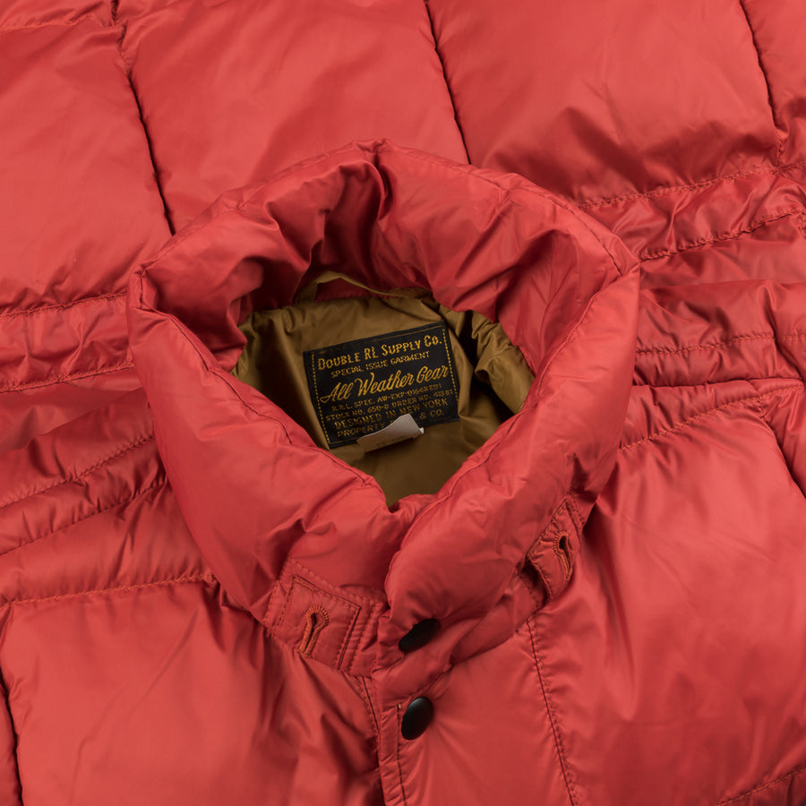RRL Ambler Jacket Thermore Filled Red
