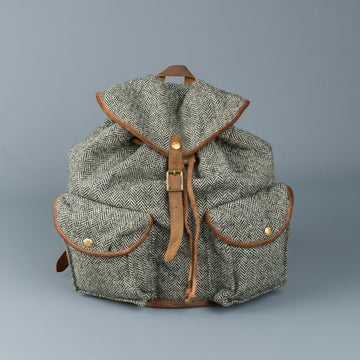RRL New Riley Backpack Harris Tweed and Suede