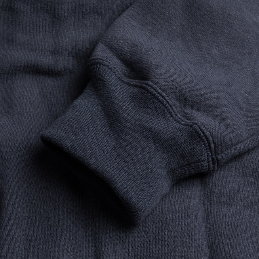 The Real McCoy's 10 oz. Loopwheel F/Z Parka Navy