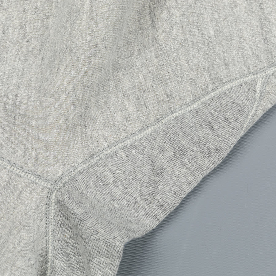 The Real MCCoy's 10 oz Loopwheel Sweatpants Heather Grey -