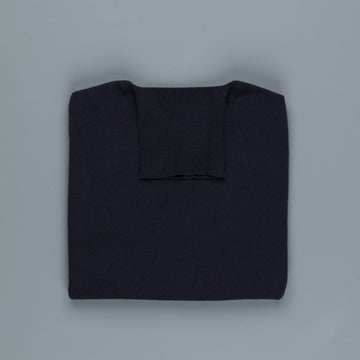 William Lockie x Frans Boone Oxton Cashmere Dolcevita Dark Navy