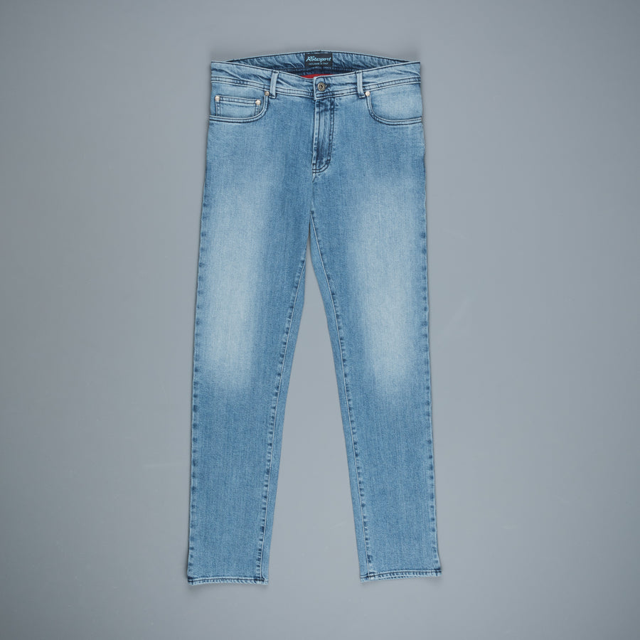 Rota comfort 5 pocket jeans sun bleach