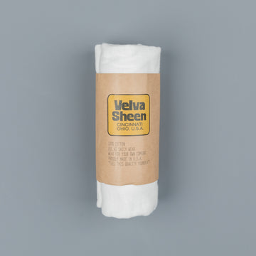Velva Sheen Roll Tee in White