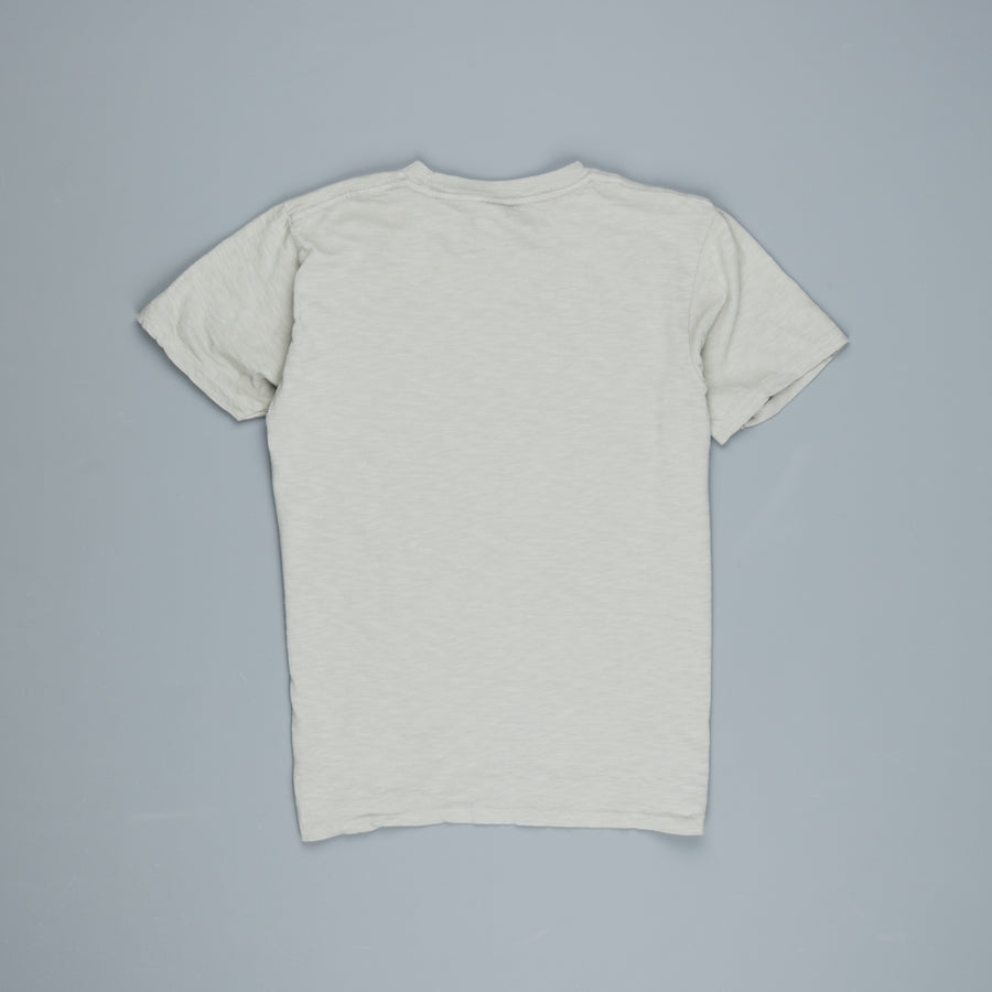 Velva Sheen Roll Tee in grey