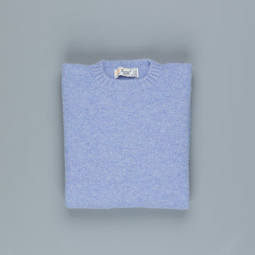 Laurence J. Smith  Super soft Seamless Crew Neck Pullover Cornflower