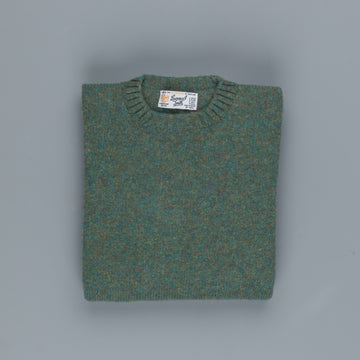 Laurence J. Smith  Super soft Seamless Crew Neck Pullover Jade
