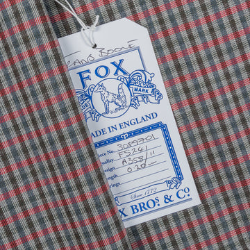 Fox Brothers for Frans Boone - Superfine Merino's Gunclub cloth Dirk