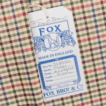 Fox Brothers for Frans Boone - Superfine Merino's Gunclub cloth Boudewijn