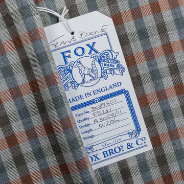 Fox Brothers for Frans Boone - Superfine Merino's Gunclub cloth Bernhard