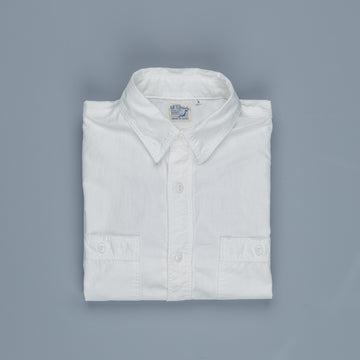 Orslow 01-8070 chambray shirt white