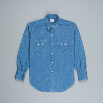 Orslow Denim Western shirt Denim Used
