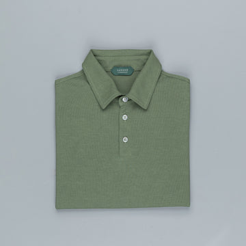 Zanone longsleeve polo ice cotton Verde