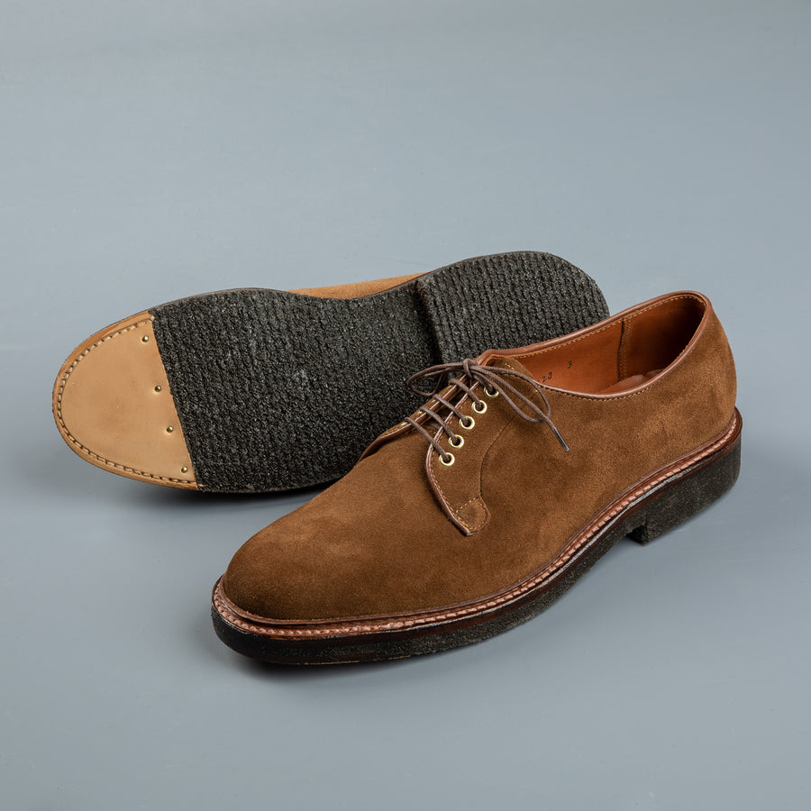 Alden Snuff Suede PT Blucher on Crepe