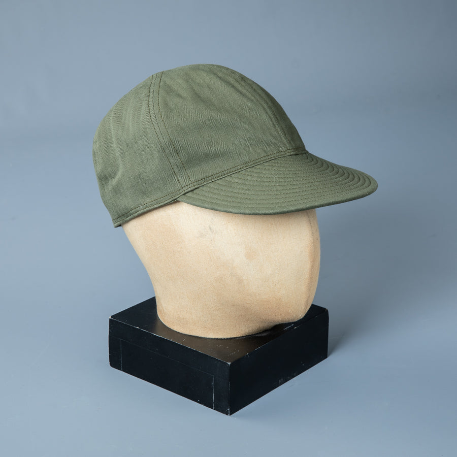 The Real McCoy's Type A-3 Cap Green