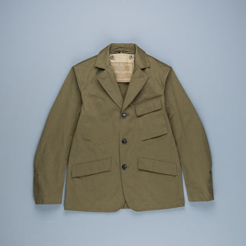 Ten C Drill Jacket Olive