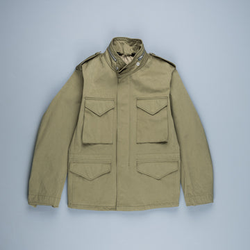 Ten C Short Field Jacket Olive