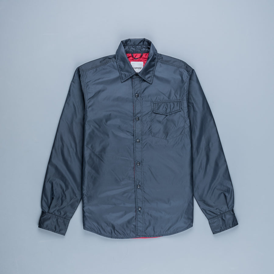 Aspesi Marvin Shirt Two Tone Navy red
