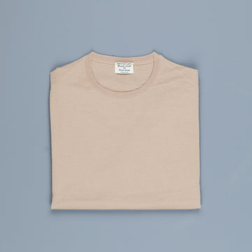 William Lockie x Frans Boone 30 gauge Loro Piana Merino's Crew Neck Sandstorm