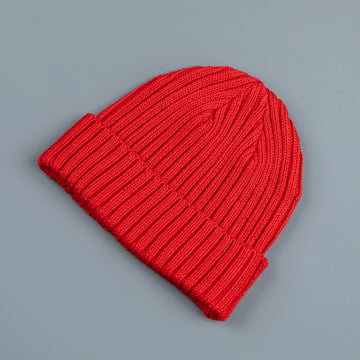 The Real McCoy's Bronson Cotton Cap Red