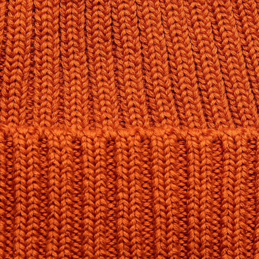 The Real McCoy's Bronson Cotton Cap Orange