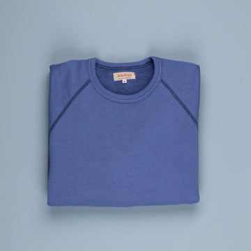 The Real McCoy's loopwheel raglan sleeve sweatshirt McQueen Navy